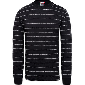 The North Face Stripes L/S Tee Men TNF black